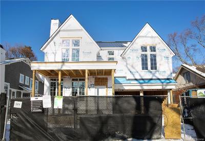Birmingham MI Single Family Home For Sale: $1,950,000