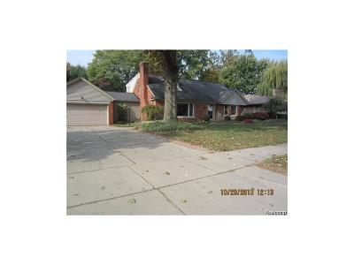 Dearborn Single Family Home For Sale: 620 Ridgemont Avenue