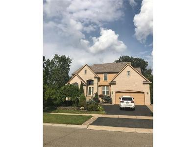 West Bloomfield, West Bloomfield Twp Single Family Home For Sale: 4937 Lake Crest