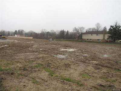 Troy MI Residential Lots & Land For Sale: $165,000