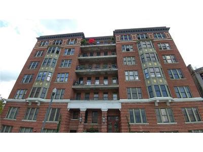 Detroit Condo/Townhouse For Sale: 78 Watson Street #3