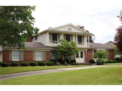 Northville Single Family Home For Sale: 41675 Sutters Lane