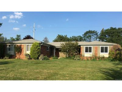 Troy Single Family Home For Sale: 4616 Bonniebrook Drive