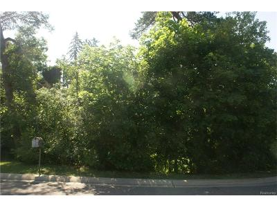Bloomfield Hills Residential Lots & Land For Sale: 130 E Long Lake Road