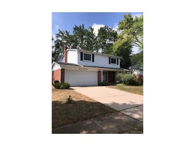 Single Family Home For Sale: 1351 N Huron River Drive