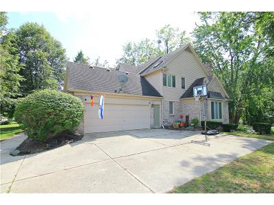 Farmington, Farmington Hills Single Family Home For Sale: 27923 Copper Creek Lane