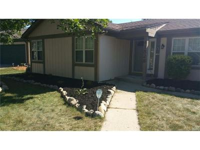 Canton Single Family Home For Sale: 41528 Pineridge Court