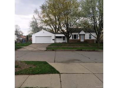 Dearborn Heights Single Family Home For Sale: 25565 Currier Street