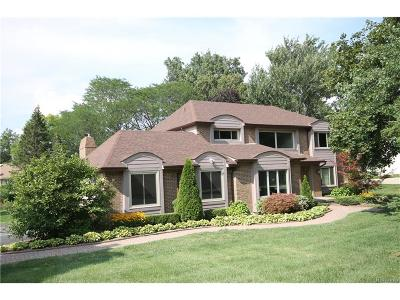 West Bloomfield, West Bloomfield Twp Single Family Home For Sale: 4277 Sedgemoor Lane
