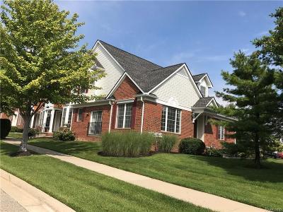 Novi Condo/Townhouse For Sale: 41694 Brownstone