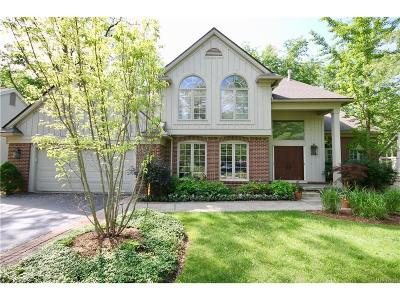 West Bloomfield, West Bloomfield Twp Single Family Home For Sale: 4978 Oak Hollow