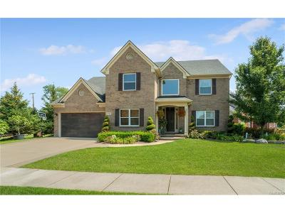 Commerce Twp Single Family Home For Sale: 1290 Loon Ridge
