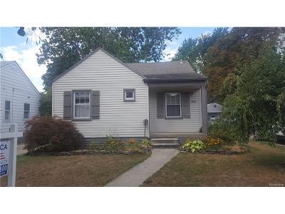Dearborn Single Family Home For Sale: 3050 Academy Street