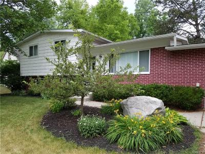 Commerce Twp Single Family Home For Sale: 4553 Chadsworth Street