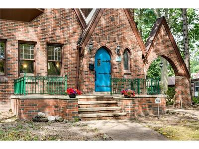 Detroit Single Family Home For Sale: 18437 Parkside