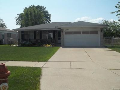 Sterling Heights Single Family Home For Sale: 4964 Fox Hill Drive