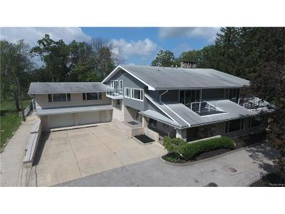 Grosse Ile, Gross Ile, Grosse Ile Twp Single Family Home For Sale: 25600 Meridian Road