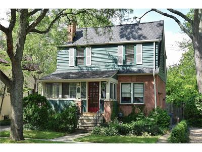 Birmingham Single Family Home For Sale: 368 W Lincoln Street