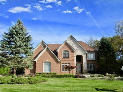 Oxford Single Family Home For Sale: 1445 Wood Trail