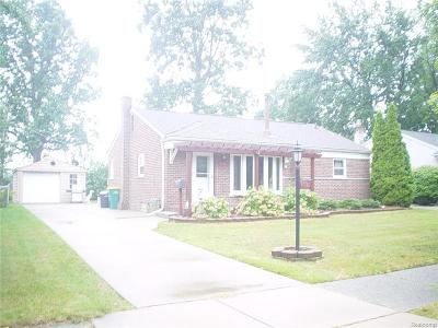 Farmington, Farmington Hills Single Family Home For Sale: 31621 Lamar Drive
