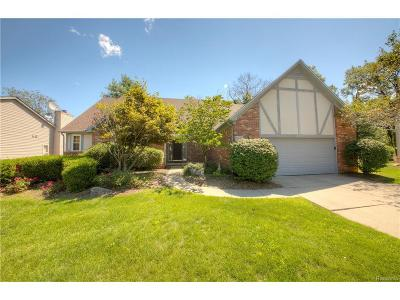 Commerce Twp Single Family Home For Sale: 2050 Blue Stone Lane