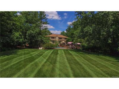 Bloomfield Hills Single Family Home For Sale: 280 Warrington Road