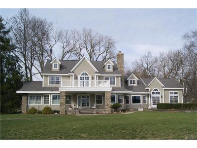 West Bloomfield, West Bloomfield Twp Single Family Home For Sale: 2660 Pine Lake Road