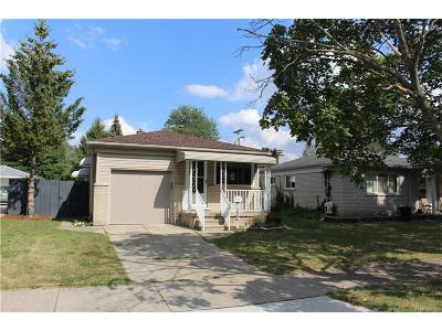 Dearborn Heights Single Family Home For Sale: 5986 N Gulley Road