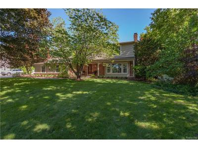 Bloomfield Hills Single Family Home For Sale: 504 Kingsley Trail