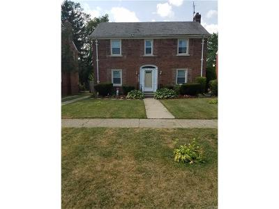 Detroit MI Single Family Home For Sale: $90,000