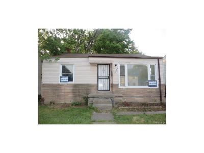 Detroit Single Family Home For Sale: 19480 Saint Louis
