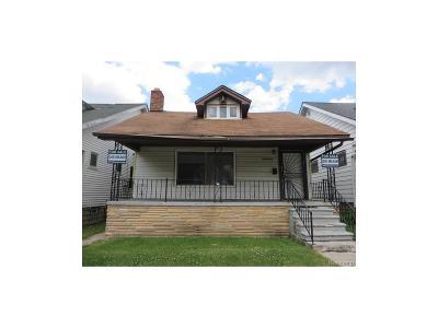 Detroit Single Family Home For Sale: 14876 Cherrylawn