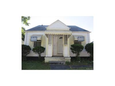 Detroit Single Family Home For Sale: 19986 Carrie