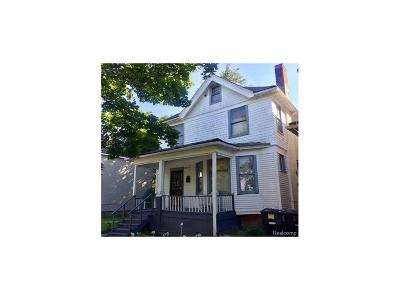 Detroit Single Family Home For Sale: 3499 Townsend Street