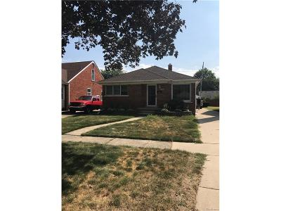 Dearborn Heights Single Family Home For Sale: 7002 Fenton Street