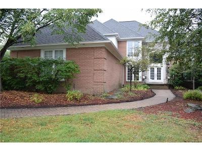 West Bloomfield, West Bloomfield Twp Single Family Home For Sale: 6682 Torybrooke Circle