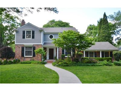 Birmingham Single Family Home For Sale: 593 Fairfax Street