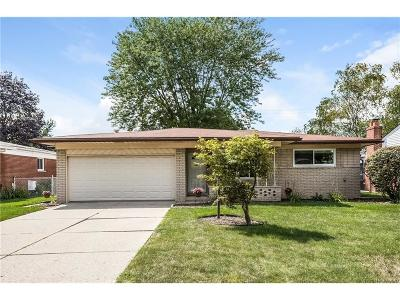 Sterling Heights Single Family Home For Sale: 33417 Shelley Lynne Drive