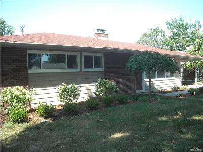 Trenton Single Family Home For Sale: 2528 Andover Street