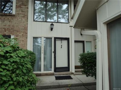 West Bloomfield, West Bloomfield Twp Condo/Townhouse For Sale: 7106 Bridge Way