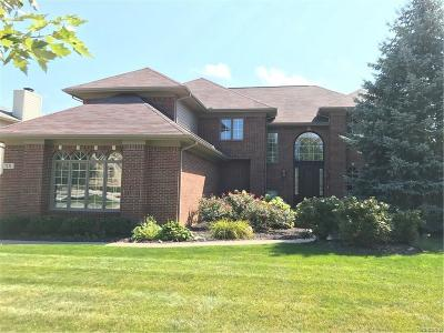 West Bloomfield, West Bloomfield Twp Single Family Home For Sale: 7131 Yarmouth
