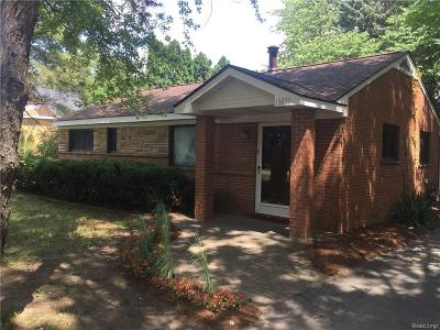 Van Buren, Van Buren Twp Single Family Home For Sale: 13839 Elwell Road N