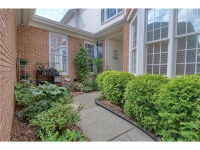 Northville Condo/Townhouse For Sale: 39444 Village Run Drive #221
