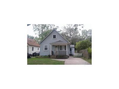 Farmington Hills Single Family Home For Sale: 27533 Shiawassee Road