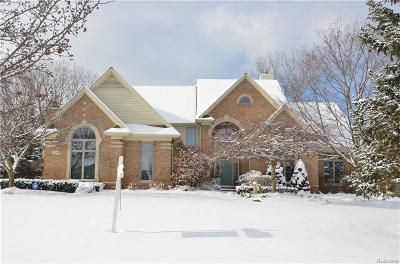 Grosse Ile Twp MI Single Family Home For Sale: $599,900