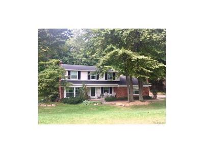 Farmington Single Family Home For Sale: 21287 Woodfarm Drive