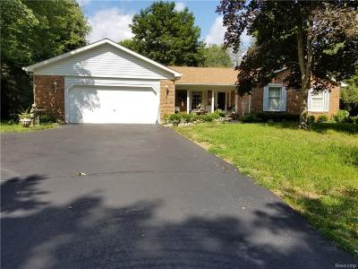 Commerce Single Family Home For Sale: 4004 Heatherwood Drive, Commerce Twp., Mi.48382.