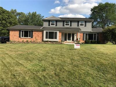 Farmington Hills Single Family Home For Sale: 38235 Connaught