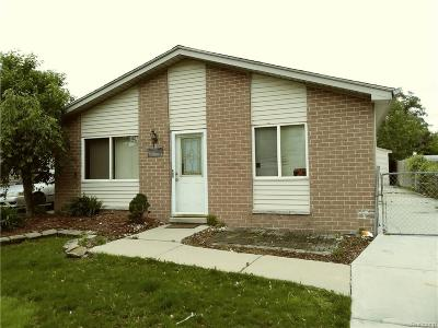 Taylor MI Single Family Home For Sale: $89,000