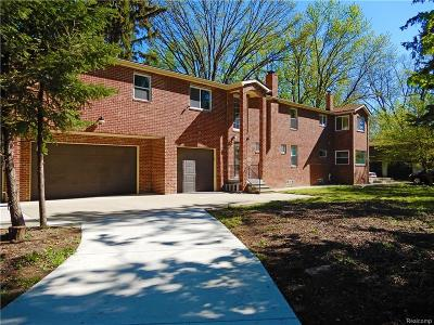 Dearborn Single Family Home For Sale: 6550 N Inkster Road